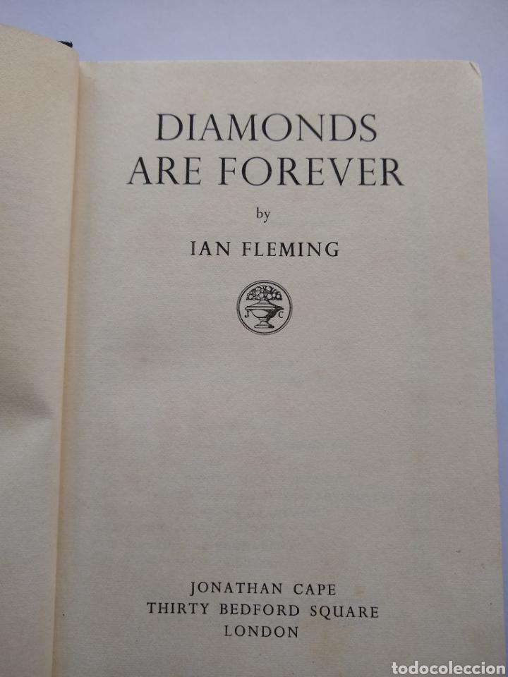Libros de segunda mano: Diamonds are forever , j Bond 1 ra, 1956 jonathan cape 1ra impresion con sobrecubierta incluida - Foto 4 - 170954457