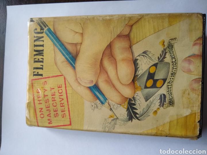Libros de segunda mano: On her majestys secret service , Ian Fleming , may 1963 , Jonathan cape - Foto 2 - 170954908