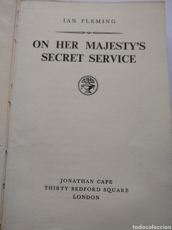 Libros de segunda mano: On her majestys secret service , Ian Fleming , may 1963 , Jonathan cape - Foto 3 - 170954908
