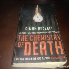 Libros de segunda mano: LIBRO BOOK SIMON BECKETT THE CHEMISTRY OF DEATH . Lote 171369830