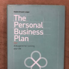 Libros de segunda mano: THE PERSONAL BUSINESS PLAN. STEPHEN BRUYANT-LANGER. A BLUE PRINT FOR RUNNING YOUR LIFE. Lote 171463947