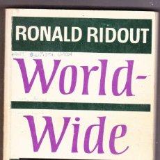 Libros de segunda mano: WORLD WIDE ENGLISH BOOK 3 RIDOUT, RONALD. ED MACMILLAN EDUCATION LIMITED AÑOS 70. Lote 171466022