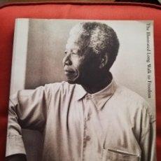 Libros de segunda mano: THE ILLUSTRATED LONG WALK TO FREEDOM. THE AUTOBIOGRAPHY OF NELSON MANDELA. Lote 171685793