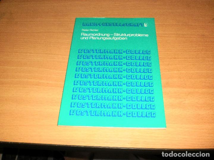 PLANIFICACIÓN - PROBLEMAS ESTRUCTURALES Y TAREAS DE PLANIFICACIÓN (DIETER RICHTER). AÑO 1977. ALEMÁN (Libros de Segunda Mano - Otros Idiomas)