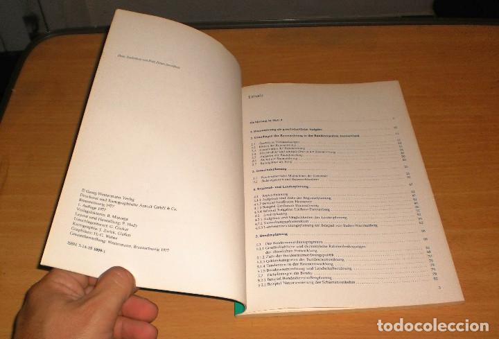 Libros de segunda mano: PLANIFICACIÓN - PROBLEMAS ESTRUCTURALES Y TAREAS DE PLANIFICACIÓN (DIETER RICHTER). AÑO 1977. ALEMÁN - Foto 2 - 171705840