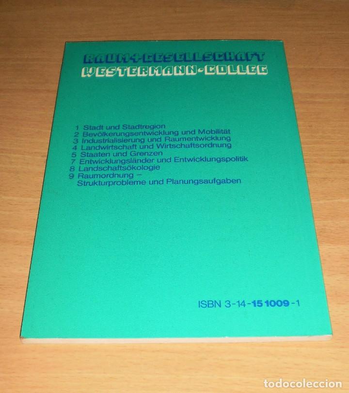 Libros de segunda mano: PLANIFICACIÓN - PROBLEMAS ESTRUCTURALES Y TAREAS DE PLANIFICACIÓN (DIETER RICHTER). AÑO 1977. ALEMÁN - Foto 4 - 171705840