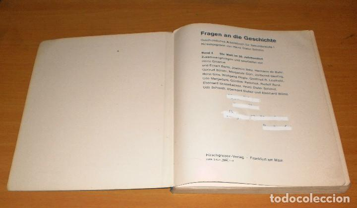 Libros de segunda mano: PREGUNTAS A LA HISTORIA. NO. 4. EL MUNDO EN EL SIGLO XX. ED. HIRSCHGRABEN-VERLAG. ALEMÁN - Foto 2 - 171706052