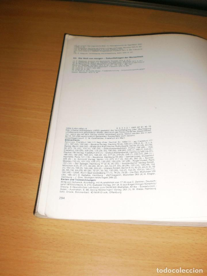 Libros de segunda mano: PREGUNTAS A LA HISTORIA. NO. 4. EL MUNDO EN EL SIGLO XX. ED. HIRSCHGRABEN-VERLAG. ALEMÁN - Foto 5 - 171706052