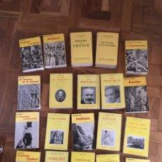 Libros de segunda mano: LOTE CLÁSICOS FRANCESES. Lote 171725090