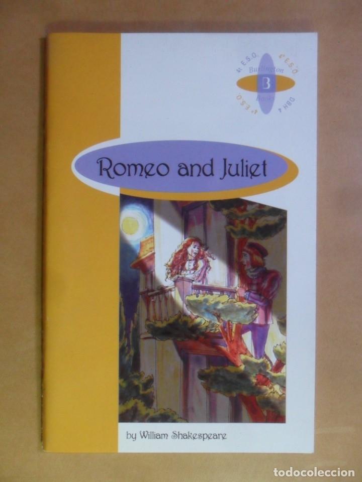 ROMEO AND JULIET - WILLIAM SHAKESPEARE - BURLINGTON - 2000 * EN INGLES (Libros de Segunda Mano - Otros Idiomas)