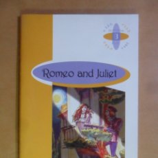 Libros de segunda mano: ROMEO AND JULIET - WILLIAM SHAKESPEARE - BURLINGTON - 2000 * EN INGLES. Lote 172246393