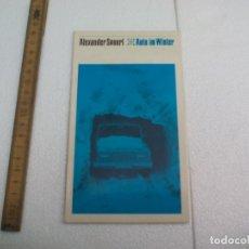Libros de segunda mano: AUTO IM WINTER EINE KLEINE PLAUDEREI MIT PRAKTISCHEN TIPS FÜR DAS AUTOFAHREN. ALEXANDER SPOERL. Lote 172631194
