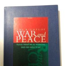 Libros de segunda mano: THE RIGHTSOF. WAR AND PEACE. RICHARD TUCK. OXFORD, 2001. PAGINAS: 243. LEER Y VER FOTOS. . Lote 172994874