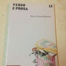 Livros em segunda mão: VERSO E PROSA. NÚMERO 15. ED.ANDEL. IDIOMA GALLEGO. Lote 173097010