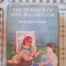 Libros de segunda mano: THE SUMMER OF MRS. MACGREGOR - BETTY REN WRIGHT - EN INGLÉS. Lote 173113997