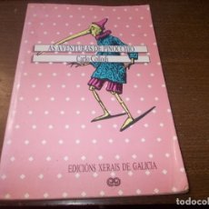 Libros de segunda mano: AS AVENTURAS DE PINOCCHIO, CARLO COLLODI. ED. XERAIS DE GALICIA 1.987, EN GALLEGO, VERSIÓN ÍNTEGRA. Lote 173813654