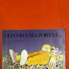Libros de segunda mano: DEI COM UMA PORTA E... L. PIMENTEL DE SAMPAIO GOES - ILUS. DE A. LOPEZ FILHO - SAO PAULO 1980. Lote 173927862