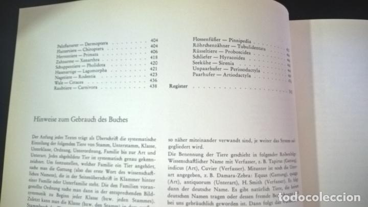 Libros de segunda mano: ENZYKLOPADIE DER TIERE. WILHELM EIGENER. GEORG WESTERMANN VERLAG. 2 TOMOS. EN ALEMAN. - Foto 18 - 174064850