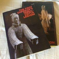 Libros de segunda mano: THE FIRST EMPEROR´S TERRACOTTA LEGIÓN. CHINA TRAVEL AND TOURISM PRESS. TTP 1988. Lote 175137762