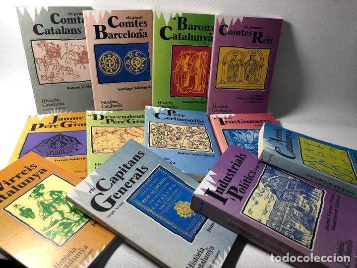 HISTORIA DE CATALUNYA ··· BIOGRAFIES CATALANES ···12 VOLS. EN CATALAN ··· VER FOTOGRAFIAS (Libros de Segunda Mano - Otros Idiomas)