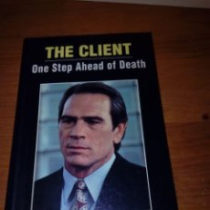 Libros de segunda mano: THE CLIENT. ONE STEP AHEAD OF DEATH. SPEAK UP. ( MANTENGA VIVO SU INGLÉS). EST10B3. Lote 186248868