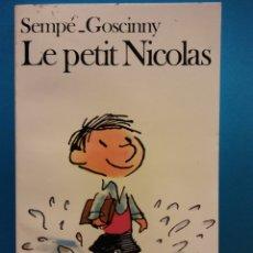 Livros em segunda mão: LE PETIT NICOLAS. SEMPÉ-GOSCINNY. EDITIONS DENOËL. Lote 176100242