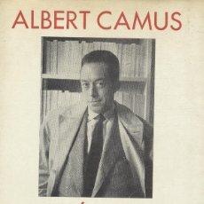 Libros de segunda mano: ALBERT CAMUS: THEATRE. RECITS. NOUVELLES. Lote 176205902