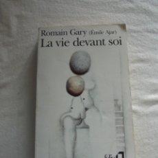 Libros de segunda mano: LA VIE DEVANT SOI ROMAIN GARY ( EMILE AJAR ) . Lote 176285602