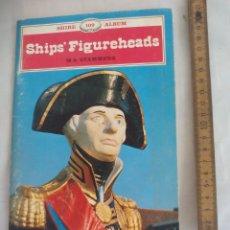 Libros de segunda mano: SHIPS' FIGUREHEADS. M.K. STAMMERS. SHIRE 109 ALBUM.1983. FIGURAS MASCARONES DE PROA FIGURAS BARCOS. Lote 176831308