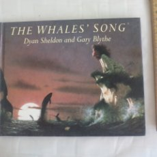 Libros de segunda mano: THE WHALES' SONG. STORY BY DYAN SHELDON. ILLUSTRATIONS BY GARY BLYTHE. HUTCHINSON. 1995. Lote 176832635