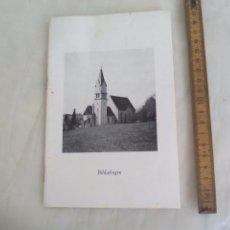 Libros de segunda mano: BIHLAFINGEN. DIE PFARR UND WALLFAHRTSKIRCHE. KREIS BIBERACH. VERLAG WILHELM KEMPTER. 1959. Lote 176834804