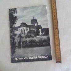 Libros de segunda mano: DIE KIRCHEN DER REICHENAU. 1963. KARL HÖRNER. Lote 176835338