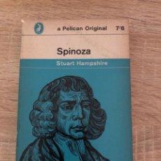 Libros de segunda mano: SPINOZA. STUART HAMPSHIRE. PENGUIN BOOK. AUSTRALIA, 1967. PAGINAS: 234. . Lote 176861022