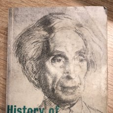 Libros de segunda mano: HISTORY OF WESTERN PHILOSOPHY. BERTRAND RUSSELL.THIS NEW EDITION. LONDRES, 1965. PAGS: 842. Lote 176862319