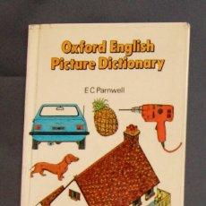 Libros de segunda mano: OXFORD ENGLISH PICTURE DICTIONARY E. C. PARNWELL . Lote 177887953