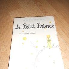 Libros de segunda mano: LE PETIT PRINCE - ANTOINE DE SAINT EXUPERY AVEC DES AQUARELLES DE L'AUTEUR - GALLIMARD 1966. Lote 178729416