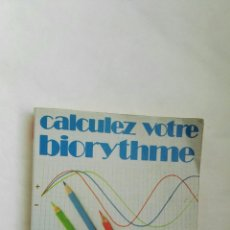 Libros de segunda mano: CALCULEZ VOTRE BIORYTHME. Lote 178993976