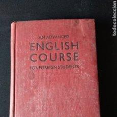Libros de segunda mano: LIBRO ENGLISH COURSE FOR FOREIGN STUDENTS. Lote 179721376