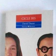 Libros de segunda mano: CICLE BIS DAVID DURAN. Lote 179946978