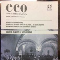 Libros de segunda mano: ECO. REVISTA DO EIXO ATLÁNTICO. NÚMERO 309. 2017. Lote 180041013