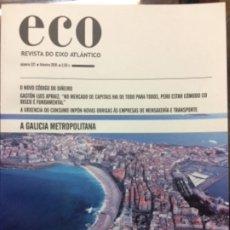 Libros de segunda mano: ECO. REVISTA DO EIXO ATLÁNTICO. NÚMERO 321. 2018. Lote 180041166