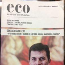 Libros de segunda mano: ECO. REVISTA DO EIXO ATLÁNTICO. NÚMERO 322. 2018. Lote 180041267