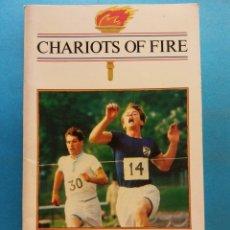 Libros de segunda mano: CHARIOTS OF FIRE. W.J.WEATHERBY. COLLINS ENGLISH LIBRARY. Lote 180465021
