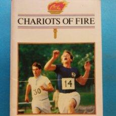 Libros de segunda mano: CHARIOTS OF FIRE. W.J.WEATHERBY. COLLINS ENGLISH LIBRARY. Lote 180465093