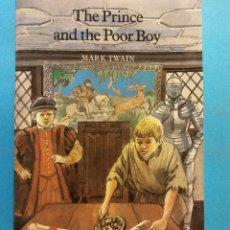 Libros de segunda mano: THE PRINCE & THE POOR BOY. MARK TWAIN. COLLINS ENGLISH LIBRARY. Lote 180466006