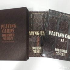 Libros de segunda mano: LIBROS PLAYING CARDS FOURNIER MUSEUM DE FÉLIX ALFARO FOURNIER EN INGLÉS. Lote 180549246
