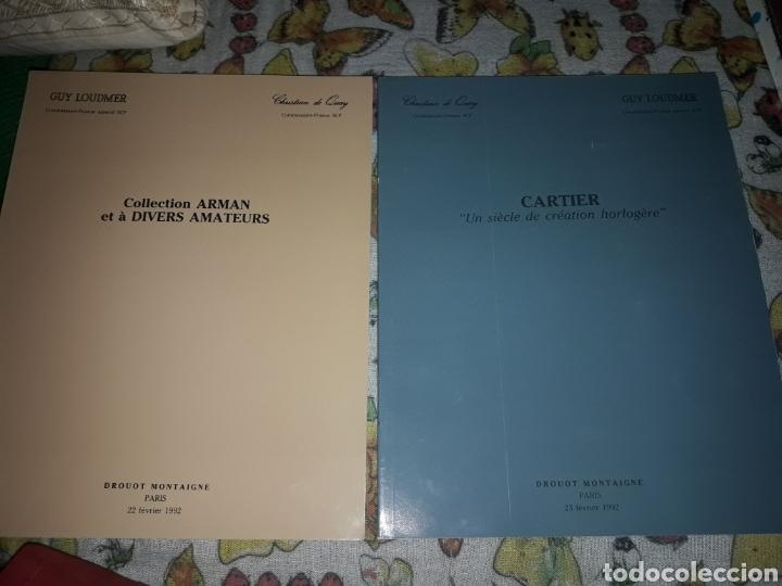 Libros de segunda mano: Cofre de 2 catálogos relojes. Guy Loudmer/Christian de Quay. Raro. Ver detalles - Foto 2 - 181506700