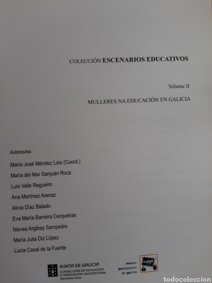 Libros de segunda mano: Mulleres na educación en Galicia M José Mendez Lois xunta 2009 - Foto 2 - 182061740