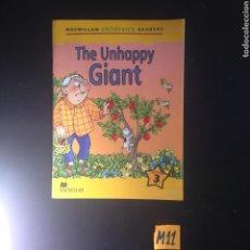 Libros de segunda mano: THE UNHAPPY GIANT. Lote 182226903