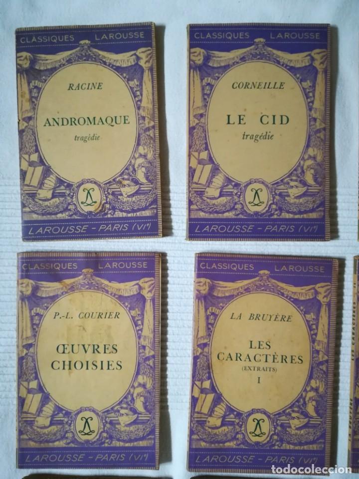 Libros de segunda mano: lote 15 libros Classiques Larousse (en francés) años 50 - Foto 2 - 182462265